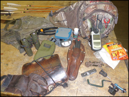 What to Pack when Bowhunting from a tree stand