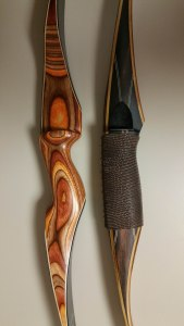 Independence next to a Tomahawk Bows® SS Longbow