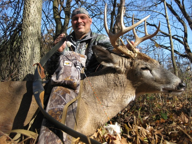 Denny Sturgis Jr with a Beautiful Buck